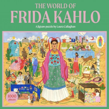 World of Frida Kahlo Puzzle (1000 brikker)
