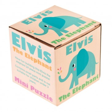 Elvis The Elephant mini Puzzle (24 brikker)