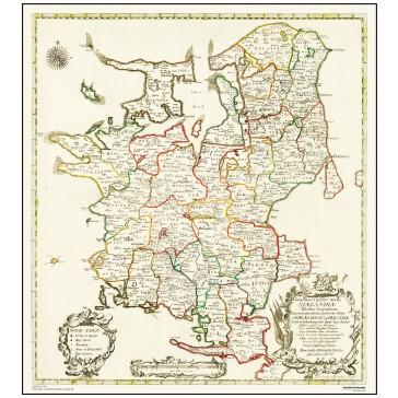 Sjælland,  år 1764