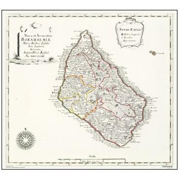 Bornholm,  år 1766