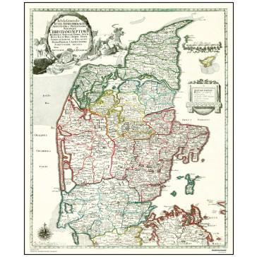 Jylland,  år 1767