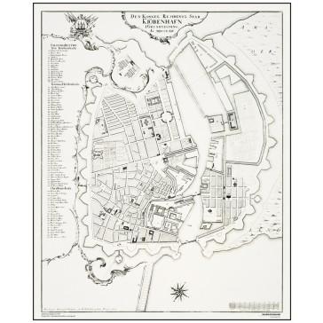 København, Byplan - år 1764