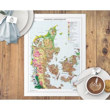 Danmarks landskabskort Dækkeserviet