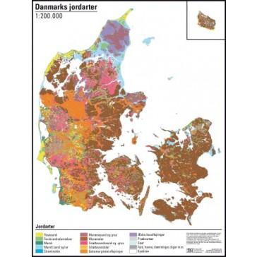 Danmark jordartskort 1:200.000
