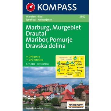 Marburg, Murgebiet Drautal/Maribor, Pomurje, Dravska dolina