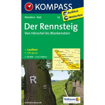 Der Rennsteig - Von Hörschel bis Blankenstein
