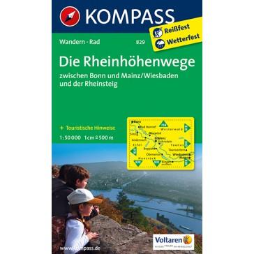 Die Rheinhöhenwege