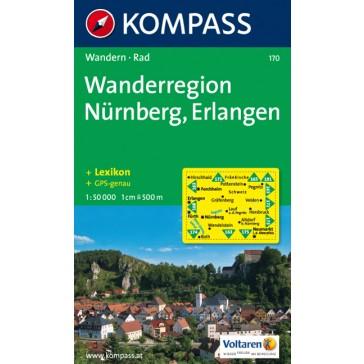 Wanderregion Nürnberg, Erlangen