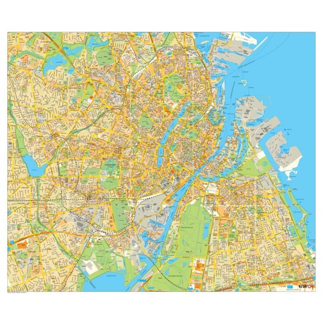 kort over københavn krak