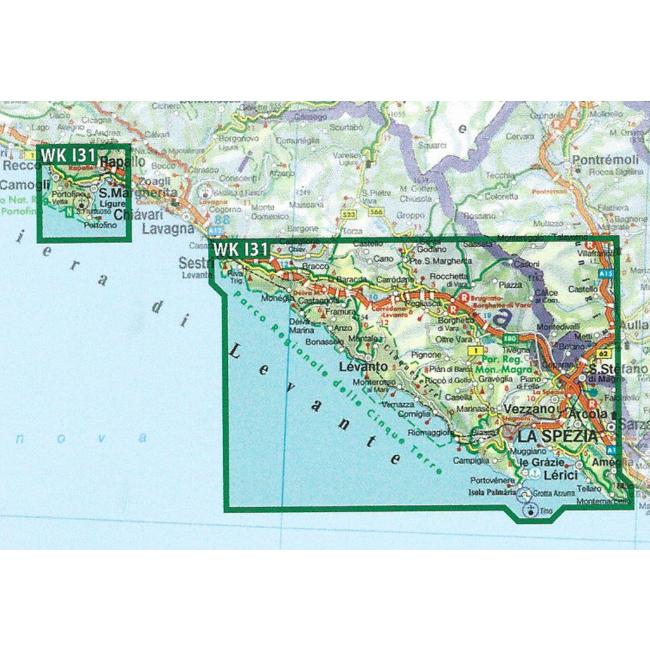 Portofino kort