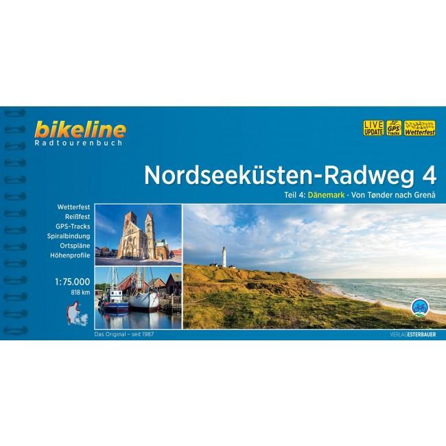 Nationalrute 1: Vestkystruten. Nordseeküsten-Radweg Teil 4 - Tønder til Skagen