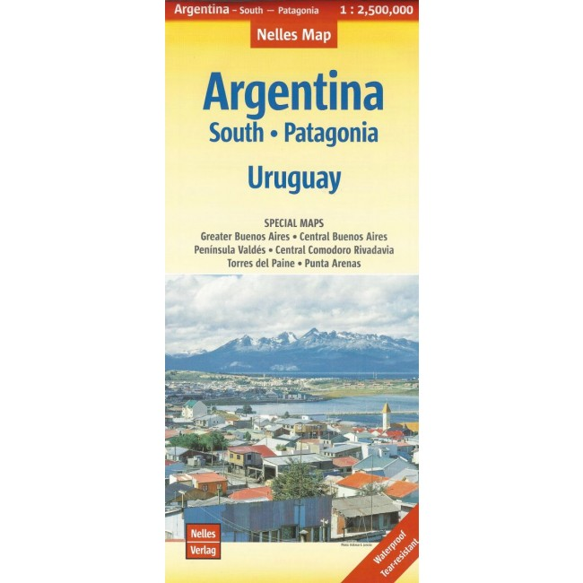 argentina south patagonia uruguay 1 2 500 000