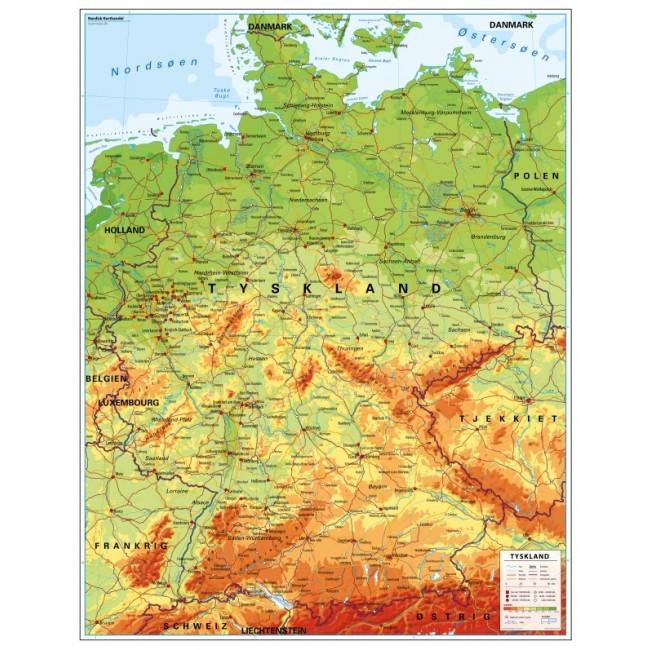 Tyskland Tyskland Skolekort Nordisk Korthandel Nordisk