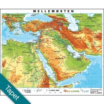 Mellemøsten Tapet