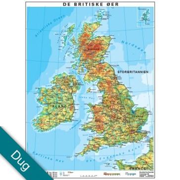 De Britiske Øer Voksdug