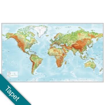 Verden Relief  Tapet