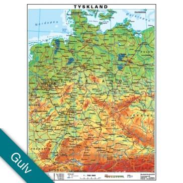 Tyskland  Gulvlaminering