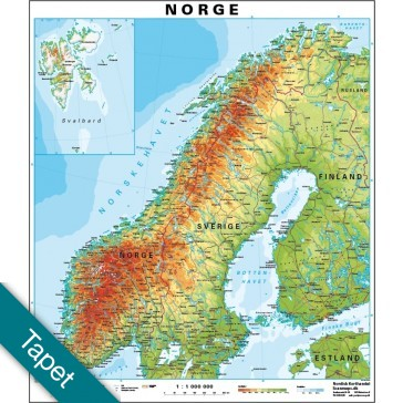 Norge  Tapet