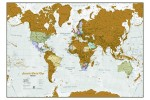 Scratch the World - Skrabe kort Verden