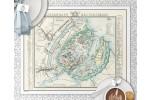 Kjøbenhavn med forstæder år 1848 Dækkeserviet