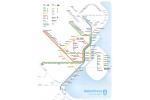 Tog- og metrokort over København