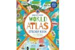 World Atlas Sticker Book incl. 450 reusable stickers