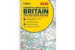 Collins Essetial Road Atlas Britain & North Ireland 2020