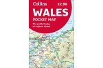 Collins Pocket Map Wales