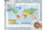 Verden Klima og plantebæltekort Dækkeserviet