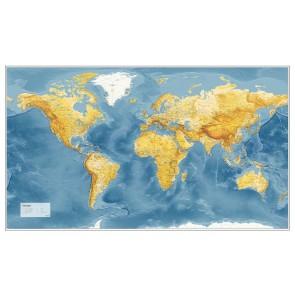 Verden m/havdybder - mørk