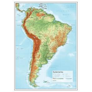 Sydamerika Relief
