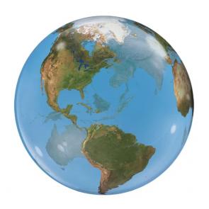 Earth Globe Ballon