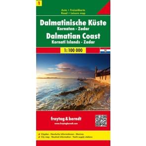 Dalmatinische Küste - Zadar Kornaten