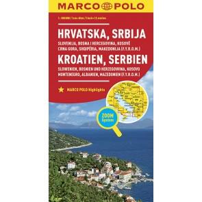 Croatia, Serbia, Slovenia, Bosnia-Hercegovina, Kosovo, Monte