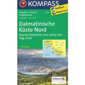 Dalmatinische Küste Nord, Krk, Cres, Losinj, Rab, Pag, Zadar
