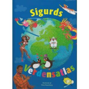 Sigurds Verdensatlas (inkl. CD)