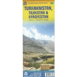 Turkmenistan, Tajikistan &Kyrgyzstan