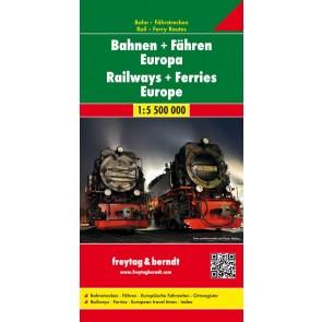 Railways + Ferries Europe