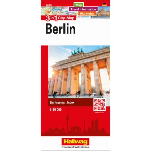 Berlin 3 in 1 City Map