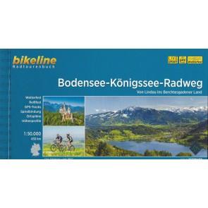Bodensee - Königssee Radweg von Lindau ins Berchtes