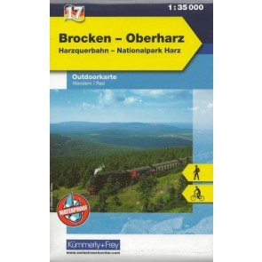 Brocken - Oberharz (Harzquerbahn - Nationalpark Harz)