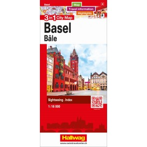 Basel 3 in 1 City Map
