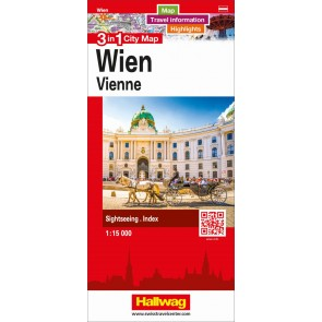 Wien 3 in 1 City Map