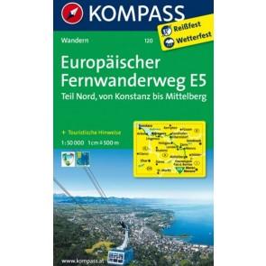 Europäischer Fernwanderweg E5 Nord - udsolgt