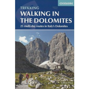 Walking in the Dolomites - 25 multi-Day routes in Italy's Do