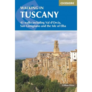 Walking in Tuscany - 43 walks incl. Elba