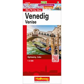 Venedig 3 in 1 City Map