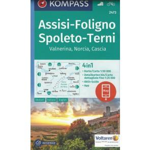 Assisi-Foligno, Spoleto-Terni