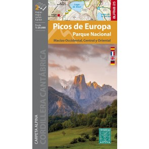 Picos de Europa PN - Macizo Occidental, Central y Oriental