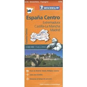 Center Spain: Extremadura, Castilla-La Mancha, Madrid